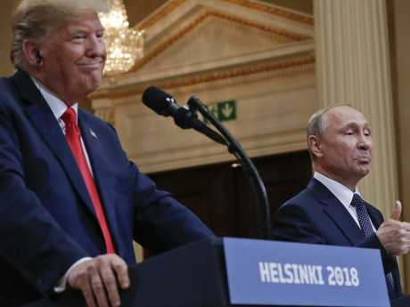 Despite the criticism of his summit with Vladimir Putin, the US President has shown it is now almost impossible to seriously damage his status. Picture: AP Photo/Pablo Martinez Monsivais