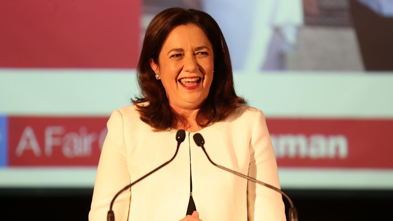 State Premier Annastacia Palaszczuk defends her travel spend. Picture: Tara Croser