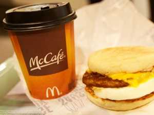 Your morning Coffee is on Macca's