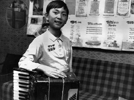 Hi older brother Kim Jong-chul, above in the 1990s, was 'kind' and later described by their father as 'a girl'.