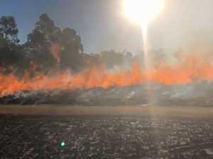 WATCH: Rural fireys keep burns in check