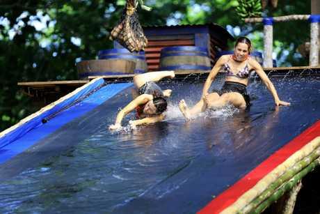Castaways dive into their first challenge in season three of Australian Survivor: Champions vs Contenders.