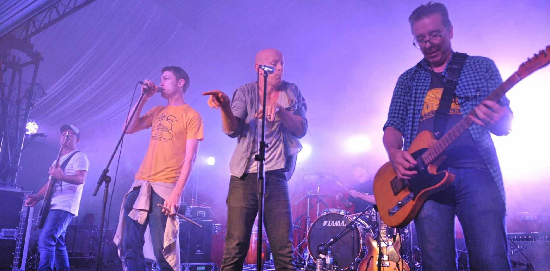 THEY ARE BACK: Skunkhour at Bluesfest 2014.