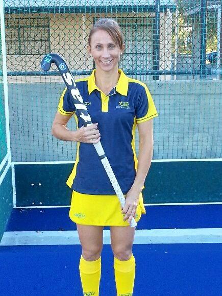 Rockhampton hockey player Jacinta Johns will represent Australia at the Masters World Cup in Spain.