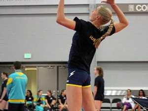 Sophie building towards volleyball dream