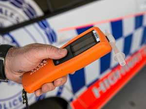 Mackay driver fails breath test after intersection smash