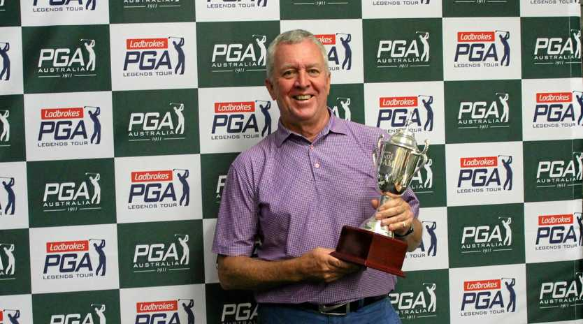 Brisbane's Allan Cooper will compete in this week's Legends Pro-Am Tour events in Toowoomba.