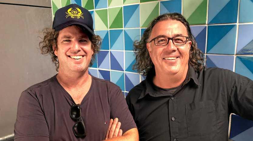 HABITAT: Architect Dominic Finlay-Jones with Habitat's Brandon Saul