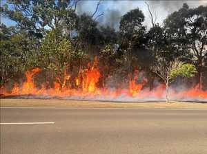 Norville grass fire under control