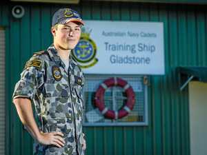 Centenary trip for Gladstone Navy Cadet