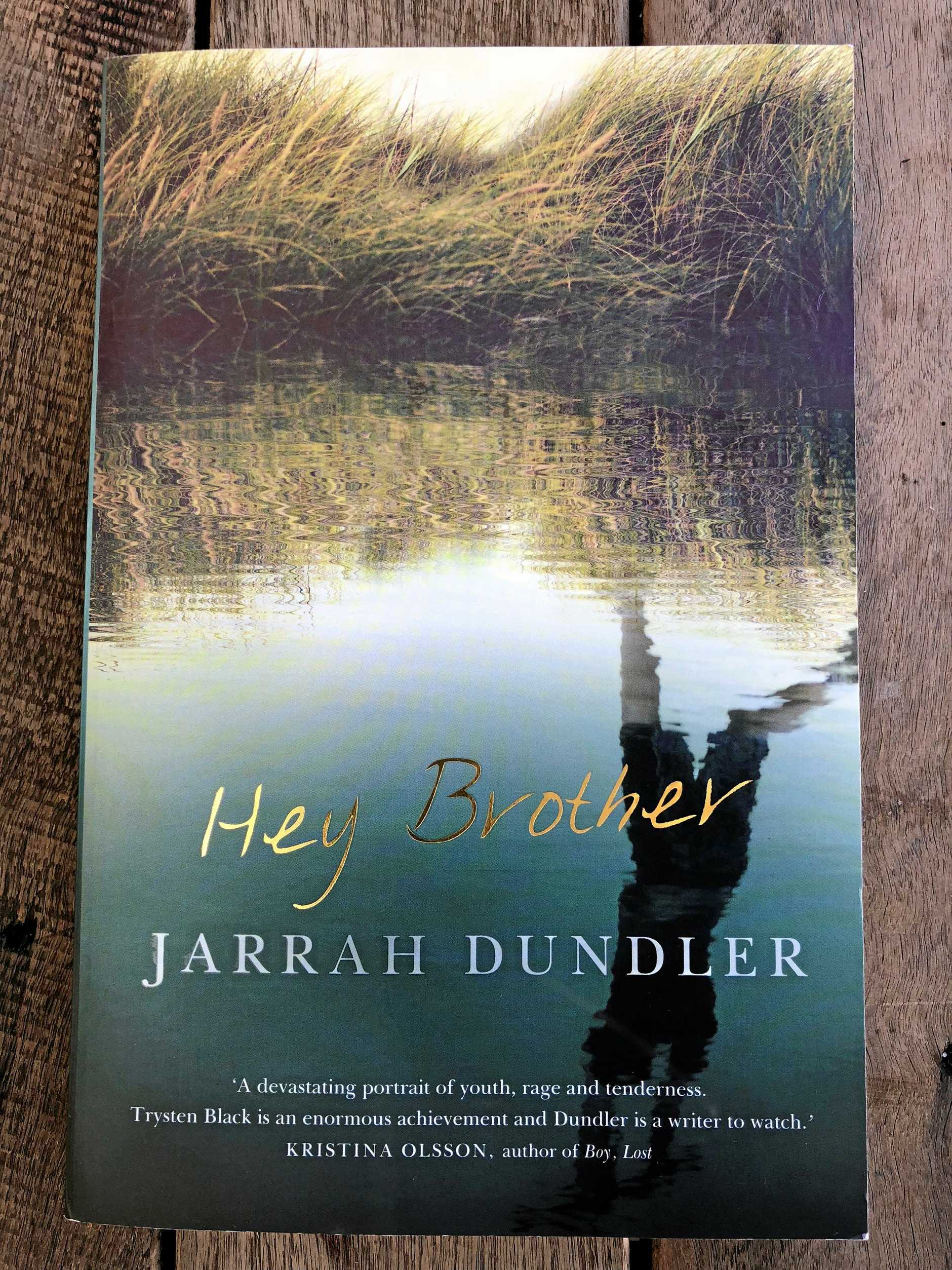 Hey Brother, published by Allen & Unwin is a new novel by Northern Rivers author Jarrah, Dundler.