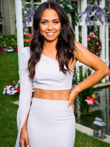 Brooke, 23, a youth worker from WA is one of the girls on Nick Cummins season of The Bachelor. Picture: Channel 10