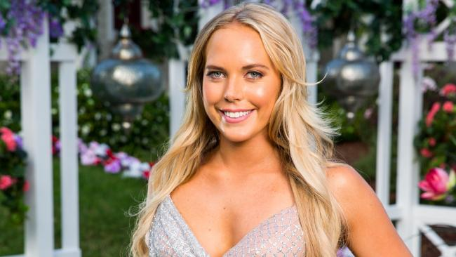 Cass, 23, a student form NSW is one of the girls on Nick Cummins season of The Bachelor. Picture: Channel 10