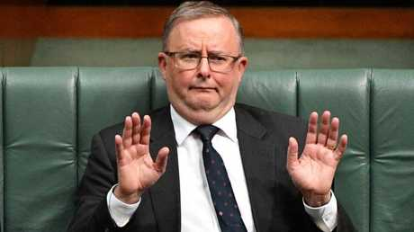 Anthony Albanese seems keen to avoid the difficult debate around immigration. (Pic: Mick Tsikas)