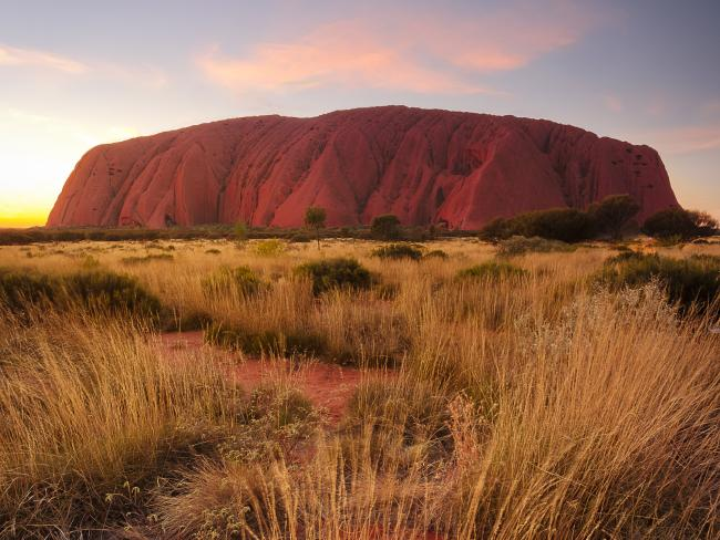 Despite Uluru's iconic status, only 30 per cent of those surveyed had visited.