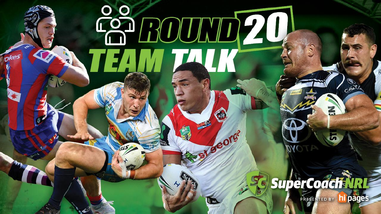 Some big ins and outs ahead of Round 20 of the NRL.