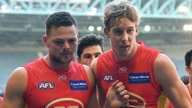 Would some extra cash help the Suns keep Steven May and Tom Lynch on the Gold Coast? Picture: AAP