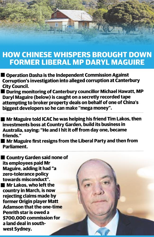A timeline of events that brought down MP Daryl Maguire.