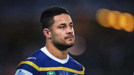 Jarryd Hayne has been moved from centre to wing. (Photo by Matt King/Getty Images)