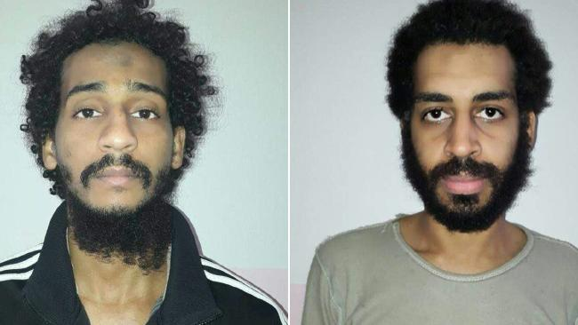 El Shafee Elsheik (L) and Alexanda Kotey (R) could be heading to trial in the US where they are at risk of the death penalty if convicted.