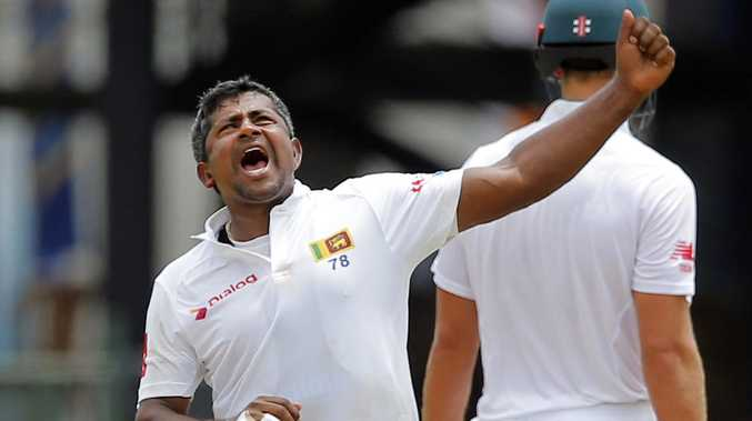 Sri Lanka's Rangana Herath now sits ninth on the all-time Test wicket-takers list.