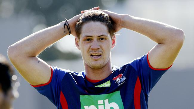 Kalyn Ponga has been named to return from injury but remains in some doubt. (AAP Image/Darren Pateman)