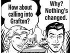 The same graphic published coming up to three years ago with updated dialogue. What's changed since then? Besides the actual roadworks that will see Grafton bypassed by 13kms, not a lot.