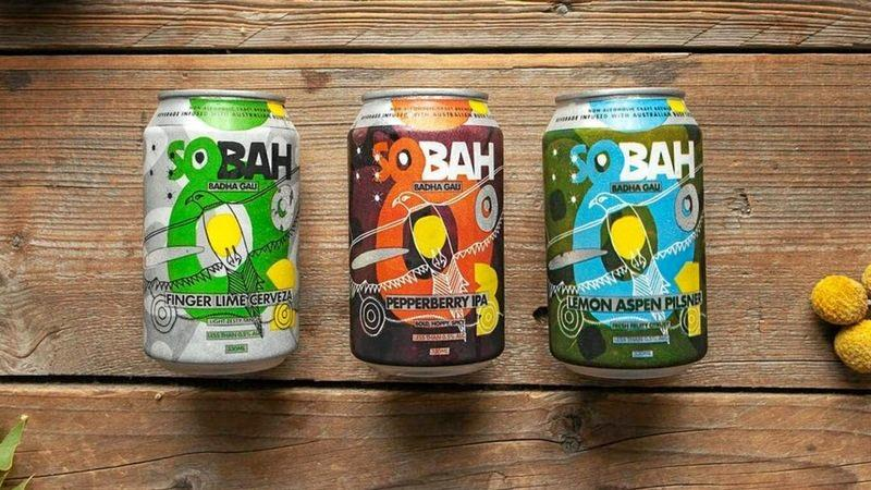 UNIQUE: Aboriginal-owned Sobah Beverages has created three delicious varieties of non-alcoholic beer.