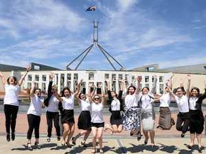 Gladstone girls power trip to Canberra