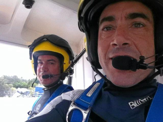 Brothers Richard and Steve McHugh.