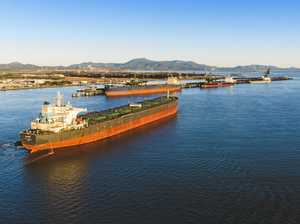 Coal ship detained amid coronavirus fears
