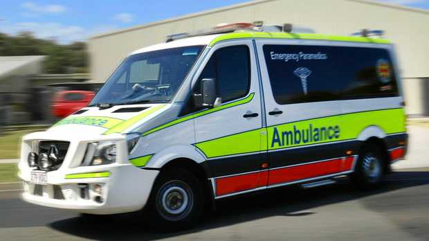 Queensland Ambulance Service Paramedics.