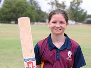 Cricketer wins a monthly award after outstanding nationals