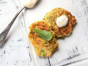 Add some zest to your zucchini fritters