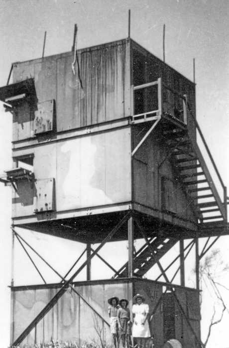 Australian Battery Observation Post, Bribie Island, 1946.xPlease note: These images are supplied for use only in connection with the Backward Glance series (both print and online). They are not to be saved or used for other purposes. Thank-you for respecting this condition.