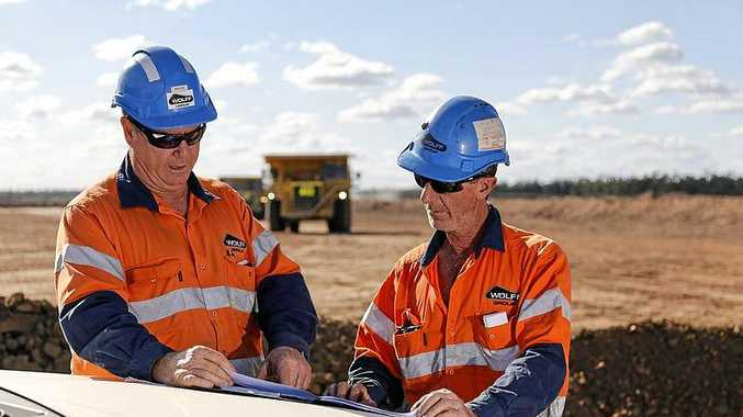 Wolff Mining have been named the Queensland Mining Contractor of the Year for 2018, at a gala held during Queensland's biggest mining exhibition in Mackay.
