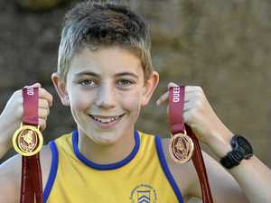 Young runner adds another gold to cabinet