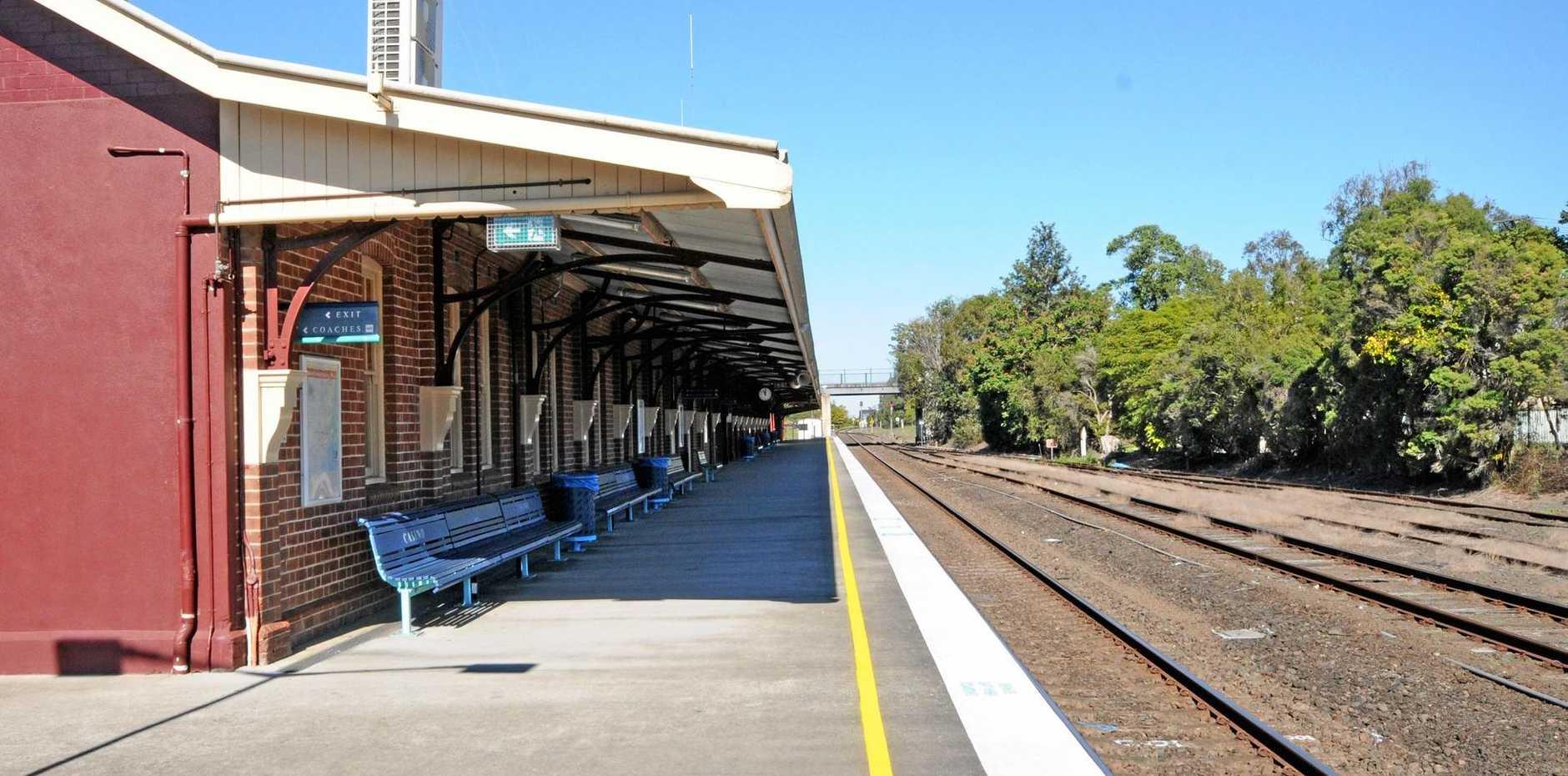 Casino Railway station  Casino.  Photo Doug Eaton / The Northern Star