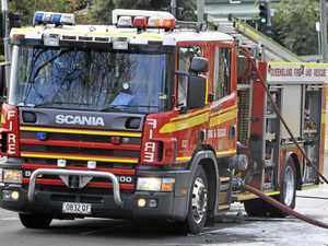 Home 'significantly' damaged, fuel container explodes