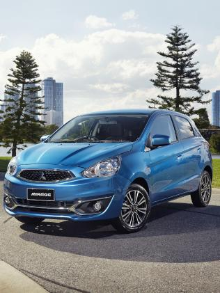 The Mitsubishi Mirage was listed as the cheapest micro car to run.
