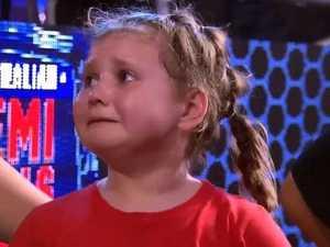 Kid steals show on Ninja Warrior with OTT behaviour