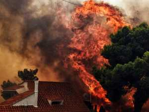 BIBLICAL DISASTER: Death toll soars in Greek fires