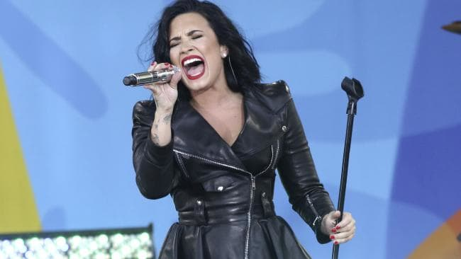 Lovato's always been upfront about her addiction and mental health issues. Picture: AP
