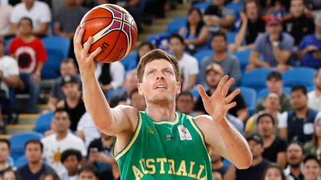 Boomer Cameron Gliddon will suit up for the Brisbane Bullets in the 2018-19 season. Picture: Getty Images
