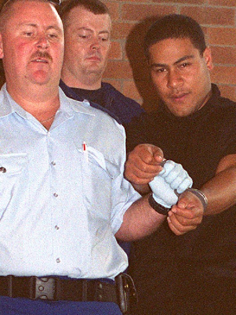 Cop killer Sione Penisini.