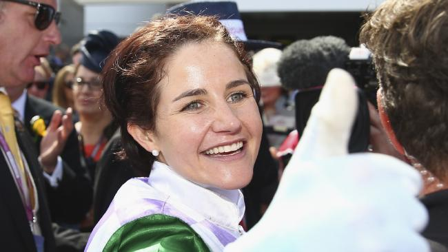 Michelle Payne urged trainer Wayne Hawkes to show some respect to jockeys.