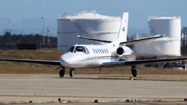 Flying juvenile criminals around the state is costing taxpayers thousands of dollars. Picture: Steve Pohlner