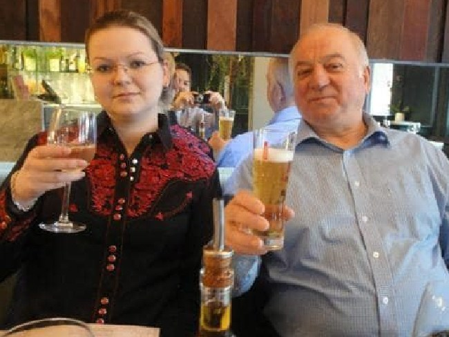 Sergei Skripal and daughter Yulia Skripal were also attacked with Novichok.  Picture:  Supplied