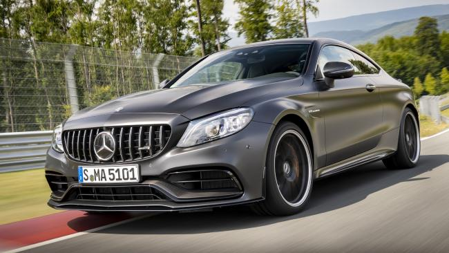 Fast times: The 2019 Mercedes-AMG C63 S is one of the fastest four-doors. Picture: Supplied.
