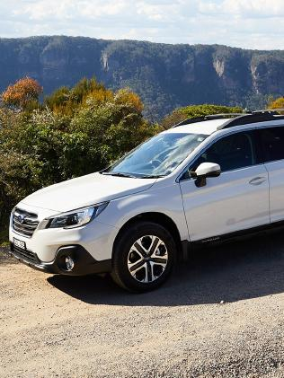 The Subaru Outback was listed as the cheapest large SUV to run.